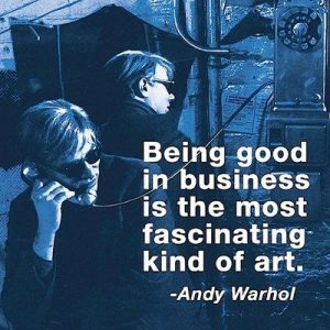 Inspiration - Andy Warhol